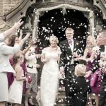 Wedding Photography - confetti